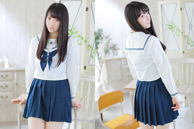 セーラー服(白)